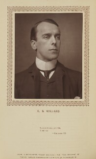 Edward Smith Willard, by St James's Photographic Co, published by  David Bogue - NPG Ax9276