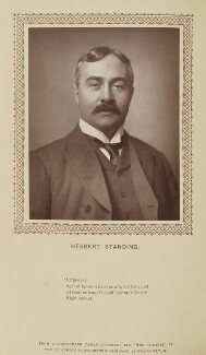 Herbert Crellin Standing, by St James's Photographic Co, published by  David Bogue - NPG Ax9282