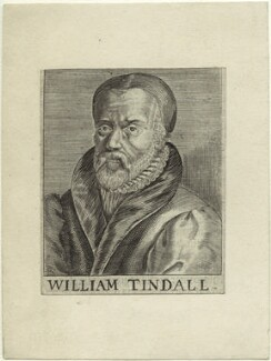 William Tyndale, after Unknown artist, mid 17th century - NPG D33383 - © National Portrait Gallery, London