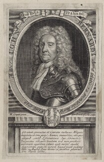 John Bernardi, by Gerard Vandergucht, after  William Cooper - NPG D27595