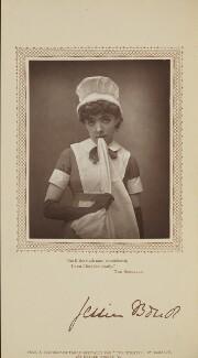 Jessie Bond as Constance in 'The Sorcerer', by Herbert Rose Barraud, published by  David Bogue - NPG Ax29198