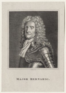 John Bernardi, by Robert Grave, after  William Cooper - NPG D27597