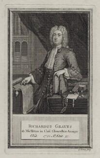 Richard Graves, by George Vertue - NPG D27599