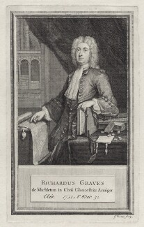 Richard Graves, by George Vertue - NPG D27600