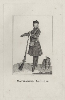 Nathaniel Oldham, by Robert Grave, after  Joseph Highmore - NPG D27601