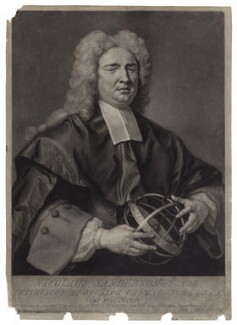 Nicholas Saunderson, by and sold by John Faber Jr, after  John Vanderbank - NPG D27603