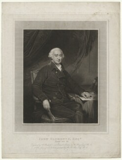 John Clements, by William Bond, after  Henry Bone, after  Sir Martin Archer Shee - NPG D33399