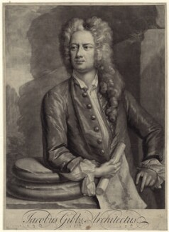 James Gibbs, by Peter Pelham, after  Hans Hysing - NPG D27616