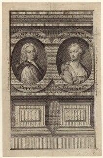 Johann Christoph Pepusch and Anastasia Mordaunt (née Robinson), Countess of Peterborough, after Thomas Hudson, mid 18th century - NPG D27618 - © National Portrait Gallery, London
