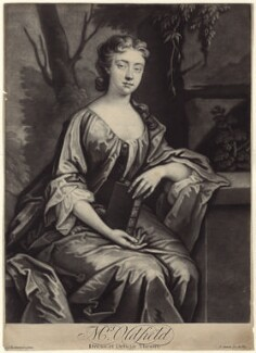 Anne Oldfield, by John Simon, after  Jonathan Richardson - NPG D27620