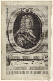 James Weston, by James Cole, after  J. Dowling - NPG D27621