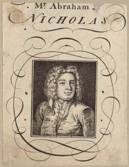 Abraham Nicholas, after Unknown artist - NPG D27623
