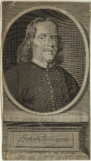 John Bunyan, by John Sturt, published by  Nathaniel Ponder, after  Robert White - NPG D33424