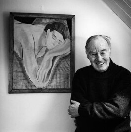 Peter Benenson, by Carolyn Djanogly - NPG x88346