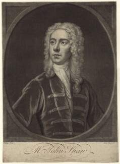John Shaw, by John Faber Jr, after  John Ellys - NPG D27625