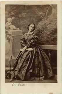 Adelina Patti, after Camille Silvy, (July 1861) - NPG x12678 - © National Portrait Gallery, London