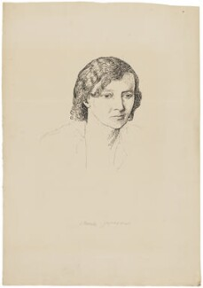 Margaret Ethel ('Storm') Jameson, by Powys Evans - NPG D33413