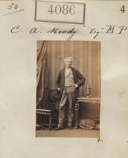 Charles Aaron Moody, by Camille Silvy - NPG Ax54101