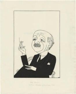 Sir Max Beerbohm, by Powys Evans - NPG D33417