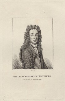 William Gordon, 6th Viscount Kenmure, by Robert Grave, after  Unknown artist - NPG D27643