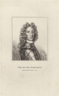 Henry Oxburgh, after Unknown artist - NPG D27647