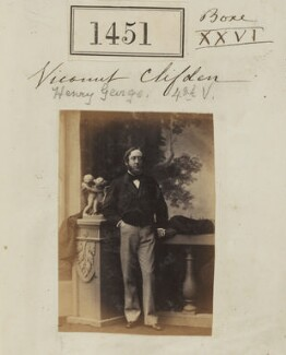 Henry Agar-Ellis, 3rd Viscount Clifden, by Camille Silvy - NPG Ax50848
