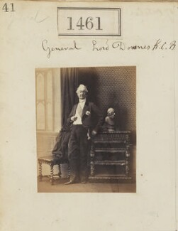 Ulysses Bagenal de Burgh, 2nd Baron Downes, by Camille Silvy - NPG Ax50858