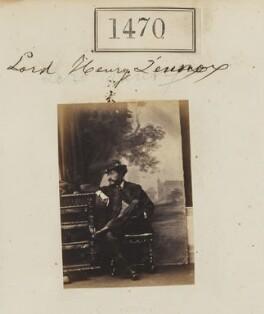 Lord Henry Charles George Gordon-Lennox, by Camille Silvy - NPG Ax50867