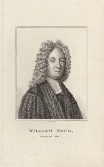 William Paul, by Robert Grave, after  Unknown artist - NPG D27655