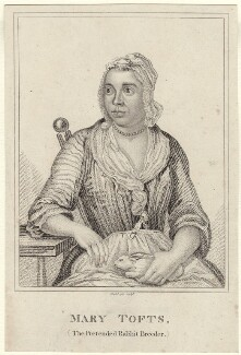 Mary Toft (Tofts) née Denyer), by T. Maddocks, after  John Laguerre - NPG D27664