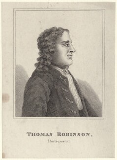 Thomas Robinson (of Avebury), after Unknown artist - NPG D27666