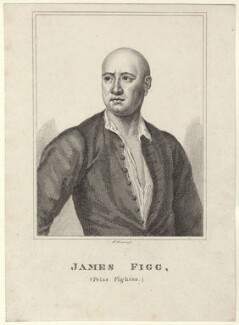 James Figg, by Robert Grave, after  John Ellys - NPG D27667