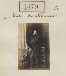 Louis Charles Philippe Raphaël d'Orléans, duc de Nemours, by Camille Silvy - NPG Ax50876