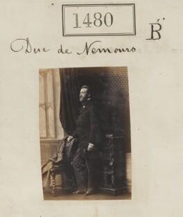 Louis Charles Philippe Raphaël d'Orléans, duc de Nemours, by Camille Silvy - NPG Ax50877