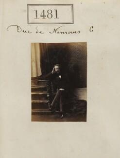 Louis Charles Philippe Raphaël d'Orléans, duc de Nemours, by Camille Silvy - NPG Ax50878
