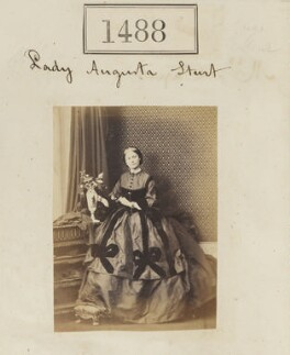 Augusta Sturt (née Lady Bingham), Baroness Alington of Criche, by Camille Silvy, 20 October 1860 - NPG Ax50885 - © National Portrait Gallery, London