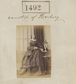 Steuart (née Lindsay), Countess of Norbury, by Camille Silvy - NPG Ax50888