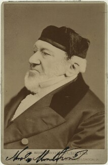 Sir Moses Haim Montefiore, 1st Bt, by Elliott & Fry - NPG x15841