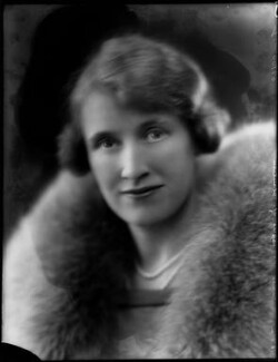 Alice Pearl (née Crake), Lady Montagu of Beaulieu (later Hon. Mrs Pleydell-Bouverie), by Bassano Ltd - NPG x154414