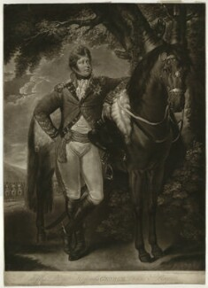 King George IV, by John Raphael Smith, after  Thomas Gainsborough - NPG D33332