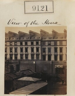 View of Camille Silvy's photographic studio, 38 Porchester Terrace, by Camille Silvy - NPG Ax58943