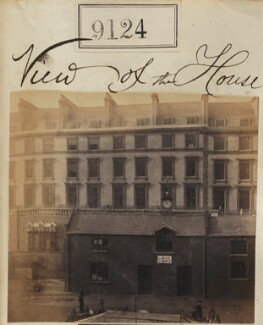 View of Camille Silvy's photographic studio, 38 Porchester Terrace, by Camille Silvy - NPG Ax58946