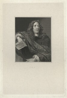 Unknown man, formerly known as John Cleveland, by Richard Rhodes, after  Thomas Uwins, after  Isaac Fuller - NPG D33436