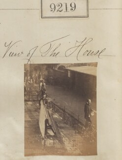 View of Camille Silvy's photographic studio, 38 Porchester Terrace, by Camille Silvy - NPG Ax59041