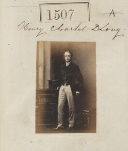 Henry Charles Dudley Long, by Camille Silvy, 23 October 1860 - NPG Ax50902 - © National Portrait Gallery, London