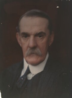Sir Richard Tetley Glazebrook, by Olive Edis - NPG x7182