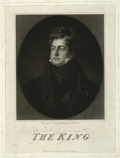 King George IV, by and published by Samuel William Reynolds - NPG D33338