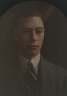 King George VI, by Olive Edis - NPG x7181