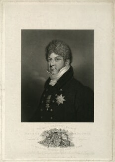 King George IV, by Thomas Fryer Ranson, published by  Charles James Scott, and published by  Colnaghi & Co, after  Edmund Scott - NPG D33342
