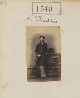 Nicholas Fachiri, by Camille Silvy, 28 October 1860 - NPG Ax50943 - © National Portrait Gallery, London